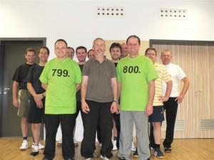 799. und 800. Mitglied TSV Ettringen